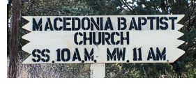 Macedonia Baptist Church website