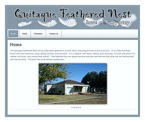 Quitaque Feathered Nest website