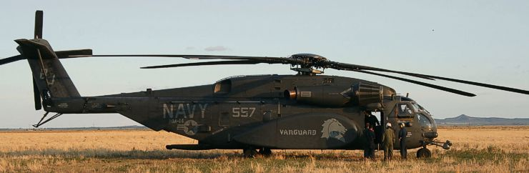 Navy Vanguard HM14 helicopter